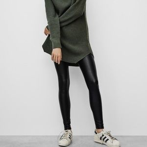Danier Italian Leather Legging Size 2 (XS)